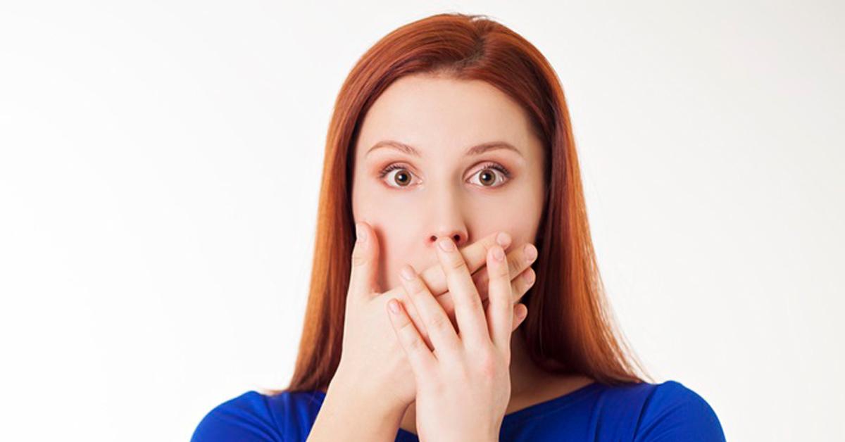 rossz lehelet lehet az orrból