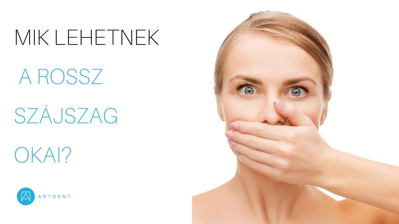 miért a szájból ürülék szaga