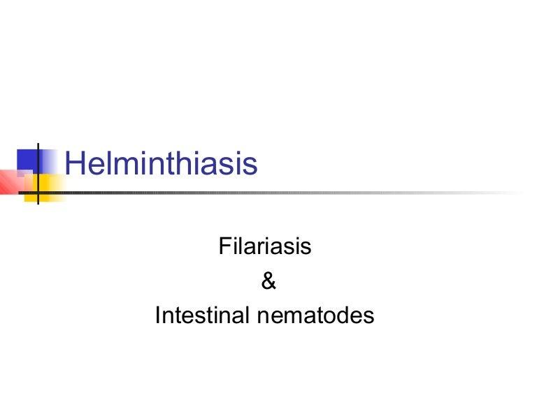 A helminthiasis megelőzésének módjai A paraziták megelőzésének módjai