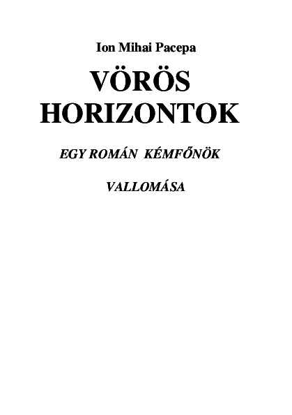 The Project Gutenberg eBook of Véres könyv by Mór Jókai
