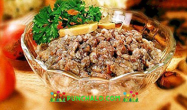 parazitákból származó sós kaviár