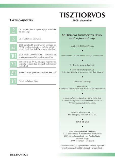 a parazitafertőzés megelőzésére irányuló intézkedések