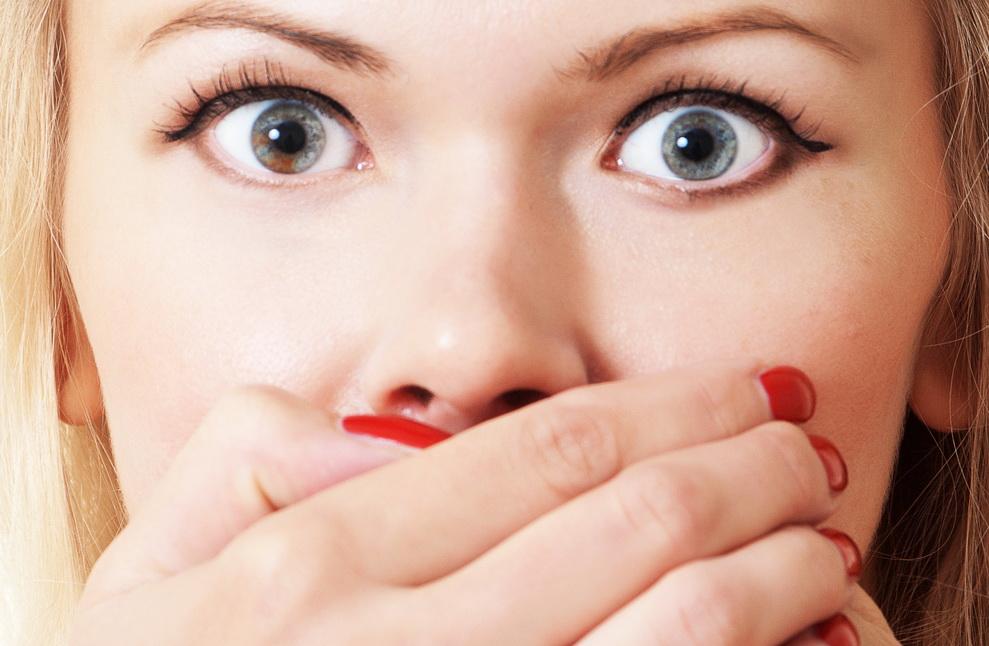 az orr és a száj szaga