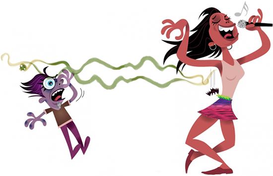 száj és az egész test szaga parazitákkal történő emberi fertőzés forrásai